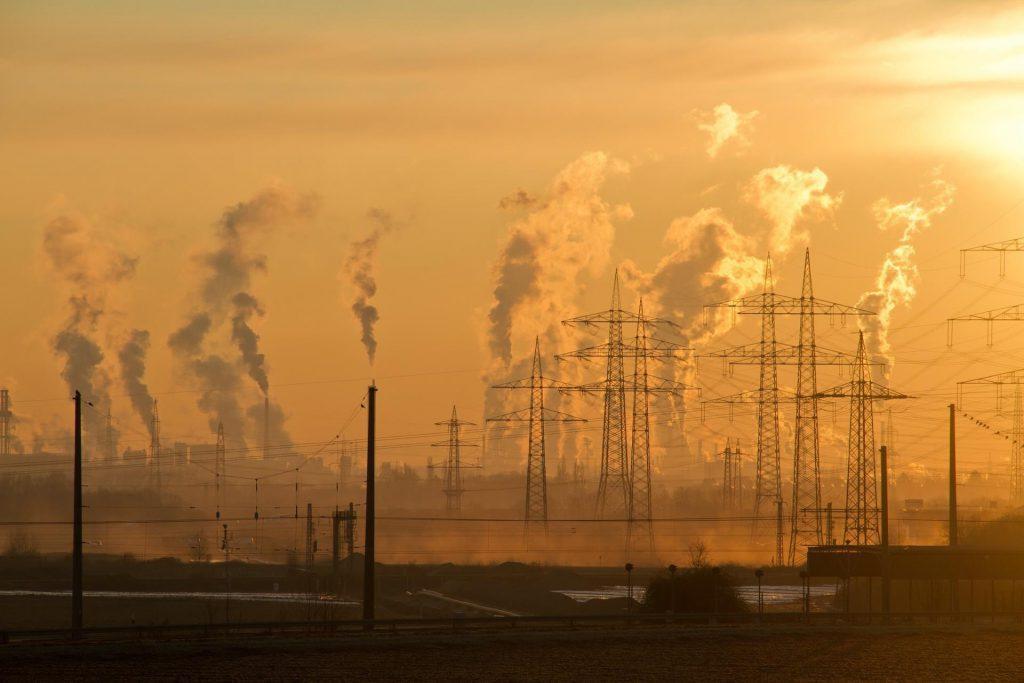 Esempio di inquinamento dell'aria - settore analisi ambientali qualità dell'aria