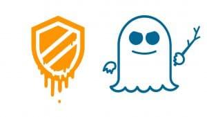 Logo delle vulnerabilità Meltdown e Spectre da www.belabs.it