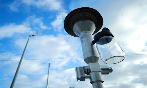 Testa di campionamento monitoraggio qualità dell'aria