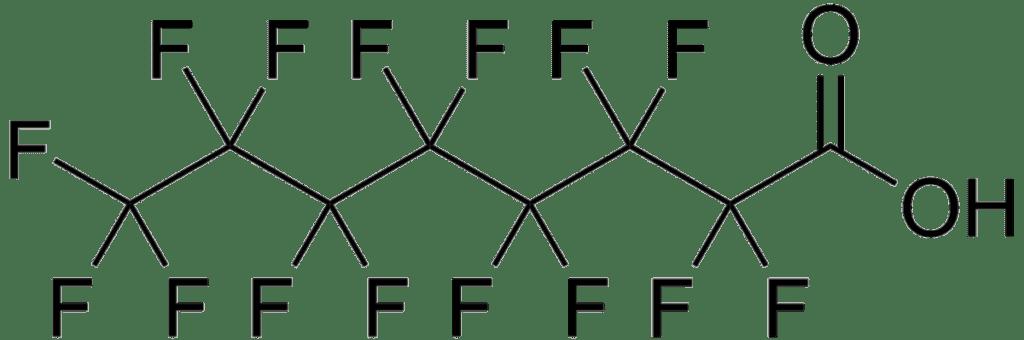 BeLabs - formula bruta perfluoroottanoico