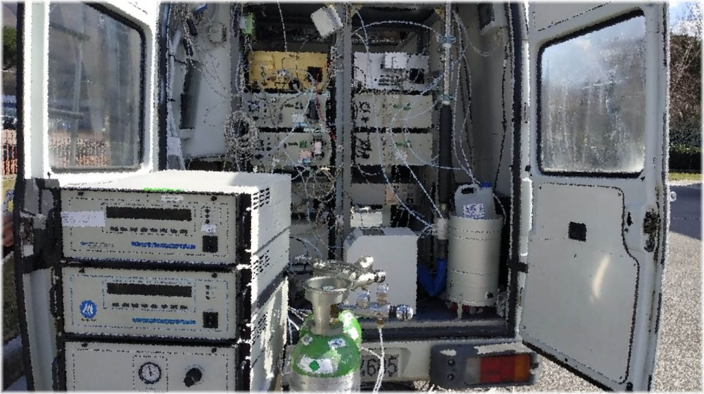 BeLabs noleggio a freddo strumentazione analisi aria AQMS