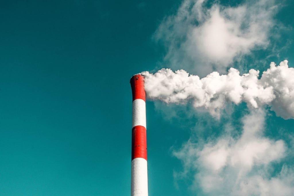 Ciminiera con emissione fumo bianco BeLabs