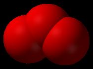 Ozono O3 molecola 3D da wikipedia