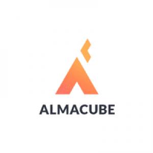 Logo incubatore AlmaCube di Bologna